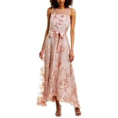 タハリ ワンピース トップス レディース Tahari ASL Maxi Dress blush floral