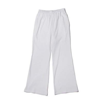 【アトモス ピンク/atmos pink】 UGG バックポケットロゴ リブロングパンツ WHITE 21SU-I