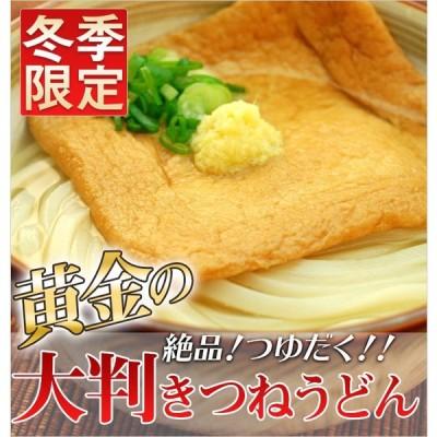 黄金の大判きつねうどん(4食入)