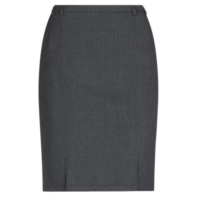 SEVENTY SERGIO TEGON ひざ丈スカート 鉛色 50 ウール 96% / ポリウレタン® 4% ひざ丈スカート