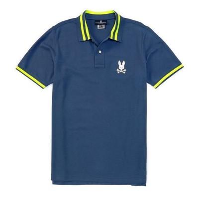 サイコバニー メンズ シャツ トップス Rushup Short-Sleeve Polo Shirt
