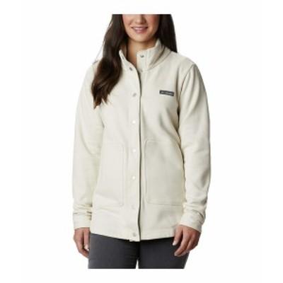 コロンビア レディース コート アウター Hart Mountain Shirt Jacket Chalk