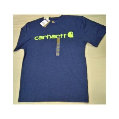 セール25%off carhartt カーハート K195 signature ヘビーウェィト ロゴプリント シャツ 半袖 メンズ レディース 人気 かっこいい おすすめ 新品