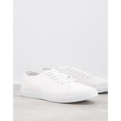 トゥラッフル メンズ スニーカー シューズ Truffle Collection sneakers in white White
