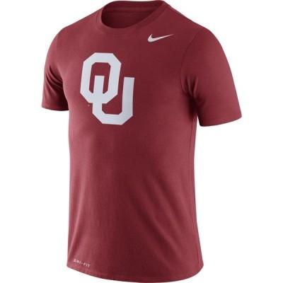 ナイキ Nike メンズ Tシャツ トップス Oklahoma Sooners Crimson Logo Dry Legend T-Shirt