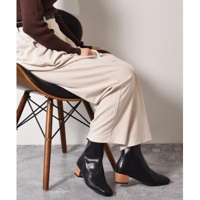 RETRO GIRL / スクエアトゥブーツ WOMEN シューズ > ブーツ