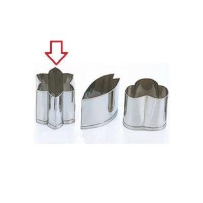 型 EBM 18-8 手造り業務用 抜型 春 水仙 バラA EBM 幅20 奥行23/業務用/新品