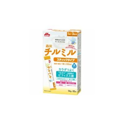 森永乳業 チルミル スティック 14g10本(粉ミルク)