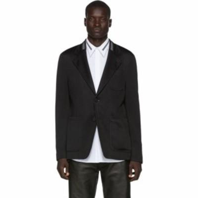 ジバンシー Givenchy メンズ スーツ・ジャケット アウター black webbing blazer Black