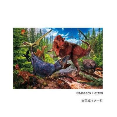 ジグソーパズル 1000ピース ティラノサウルス VS ティラノサウルス 61-439 (1543868)