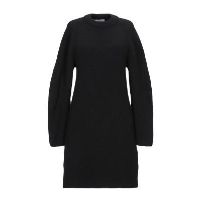 クロエ CHLOÉ ミニワンピース&ドレス ブラック M ウール 47% / 毛(アルパカ) 47% / ポリアクリル 6% ミニワンピース&ドレス