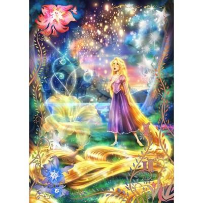 【新品】ジグソーパズル 塔の上のラプンツェル 輝く魔法の髪 500ピース (35x49cm)<テンヨー>