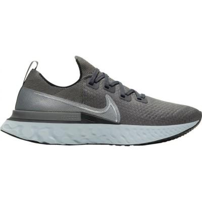 ナイキ Nike メンズ ランニング・ウォーキング シューズ・靴 React Infinity Run Flyknit Running Shoes Grey/Black