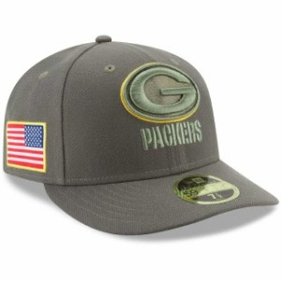 New Era ニュー エラ スポーツ用品  New Era Green Bay Packers Olive 2017 Salute To Service Low Profile 59FIFTY Fitted H