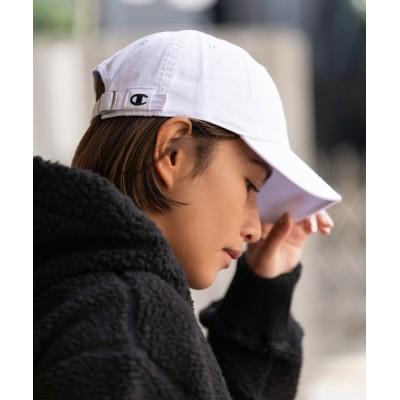 ROOP TOKYO / CHAMPION/チャンピオン クラシック ウォッシュド コットン キャップ Classic Washed Twill Cap WOMEN 帽子 > キャップ