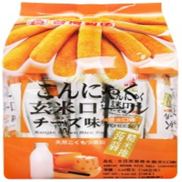 北田蒟蒻糙米捲-芝士口味