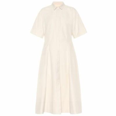 ジル サンダー Jil Sander レディース ワンピース ワンピース・ドレス Cotton midi shirt dress Light/Pastel Pink