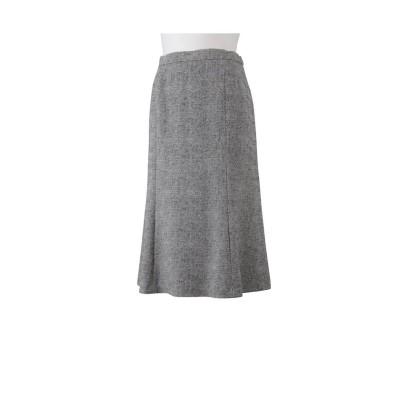 (MISSEL/ミゼール)ツィードプリント6枚接ぎスカート【セットアップ対応可】/レディース グレー