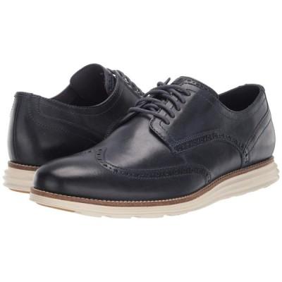 コールハーン Cole Haan メンズ 革靴・ビジネスシューズ シューズ・靴 Original Grand Shortwing Navy Leather/Ivory