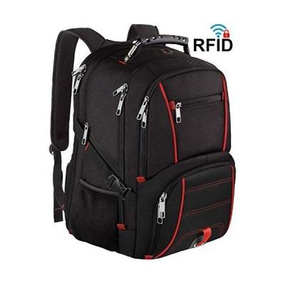 海外より出荷【並行輸入品】特大バックパック、旅行用 大容量 TSA対応 耐久性 メンズ レディース コンピューターバックパック USB充電ポート付き