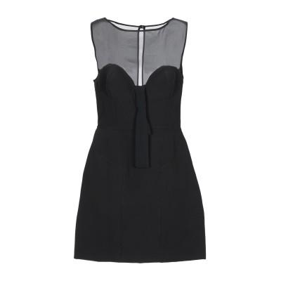 GIL SANTUCCI ミニワンピース&ドレス ブラック 44 ポリエステル 89% / ポリウレタン 11% / ナイロン ミニワンピース&ドレス