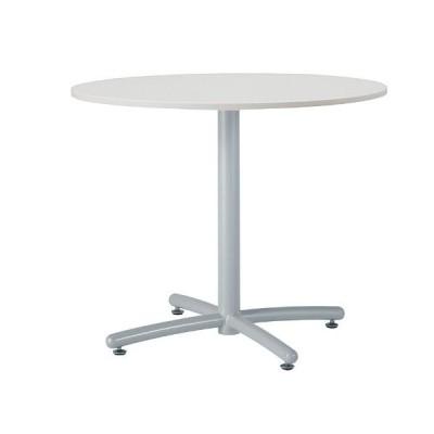 井上金庫 UTS-S750M テーブル ミーティングテーブル 会議用テーブル W750*D750*H700MM 750Φ丸天板  3色から選べ