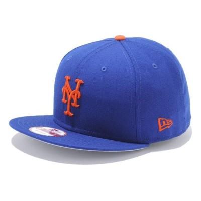 ニューエラ newer 9FIFTY ニューヨーク・メッツ スナップバック キャップ ライトロイヤル