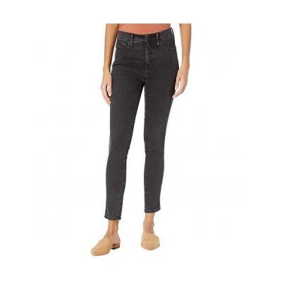 Madewell レディース 女性用 ファッション ジーンズ デニム 10'' High-Rise Skinny Jeans in Robert Wash: Button-Font Edition - Robert Wash