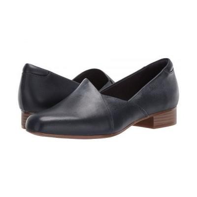 Clarks クラークス レディース 女性用 シューズ 靴 ローファー ボートシューズ Juliet Palm - Navy Leather