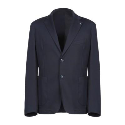 TWELVE テーラードジャケット ダークブルー 52 コットン 50% / ポリエステル 50% テーラードジャケット