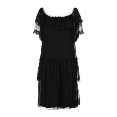 アルベルタ フェレッティ ALBERTA FERRETTI ミニワンピース&ドレス ブラック 42 シルク 100% ミニワンピース&ドレス