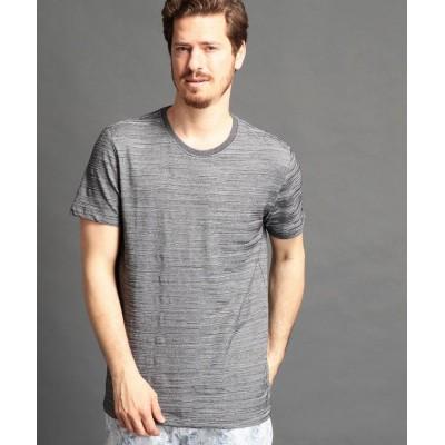 【ムッシュニコル】 カモフラジャガードTシャツ メンズ 29グレー 48(L) MONSIEUR NICOLE