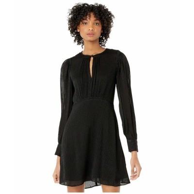 ケイト スペード ワンピース トップス レディース Fluid Stripe Dress Black