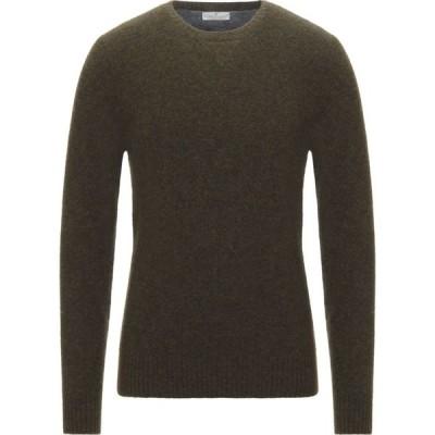 パニカーレ PANICALE メンズ ニット・セーター トップス sweater Military green
