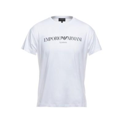 エンポリオ アルマーニ EMPORIO ARMANI T シャツ ホワイト XL コットン 100% T シャツ