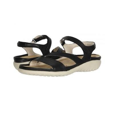 Naot ナオト レディース 女性用 シューズ 靴 サンダル Etera - Soft Black Leather