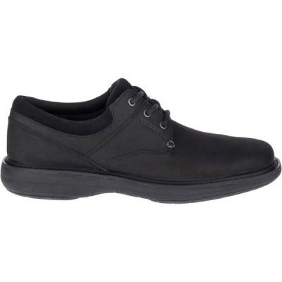 メレル スニーカー シューズ メンズ Merrell Men's World Vue Lace Casual Shoes Black