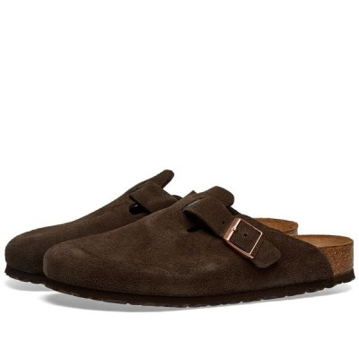 ビルケンシュトック Birkenstock メンズ サンダル シューズ・靴 Boston Mocha Suede