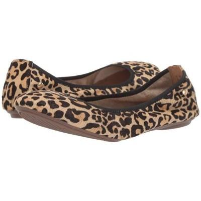 ハッシュパピー Chaste Ballet レディース フラットシューズ Leopard Haircalf 1