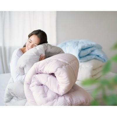 ベッド 寝具 布団 毛布 洗える布団 敷布団 シングル(テンセルTM&ガーゼ寝具シリーズ 掛け布団) 565181
