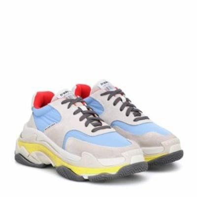 バレンシアガ スニーカー Triple S sneakers Gris/Blue/Rouge