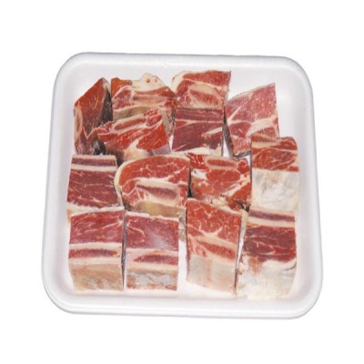 【冷凍】『牛肉類』カルビタン用牛肉|牛カルビスープ(1kg)■アメリカ産 お肉 牛肉 スープ お鍋