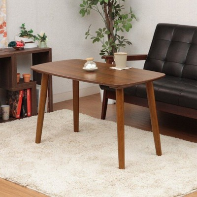 ローテーブル 木製 シンプル 高さがある 長方形