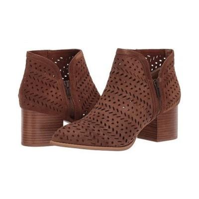 Seychelles セイシェルズ レディース 女性用 シューズ 靴 ブーツ アンクル ショートブーツ Chaparral - Cognac Perforated Suede