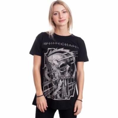 インペリコン Impericon レディース Tシャツ トップス - Spiked Skull - T-Shirt black