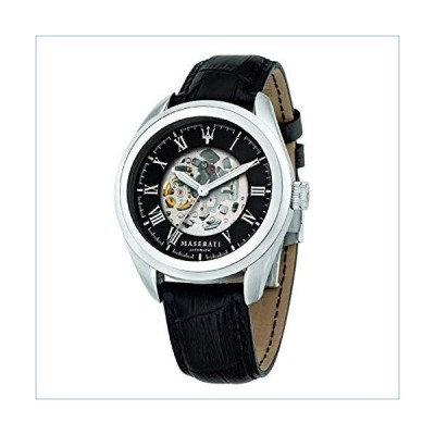 Maserati Traguardo Automatic Silver Dial Men's Watch R8821112003並行輸入品