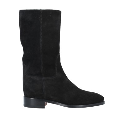 SANTONI ブーツ ブラック 40.5 革 ブーツ