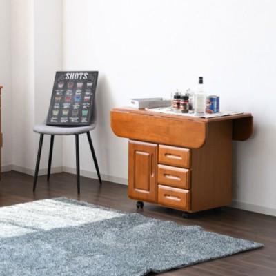【送料無料】ダイニングボード 日本製 食器棚 完成品 幅90cm キッチンボード 引き出し収納 木製 家具