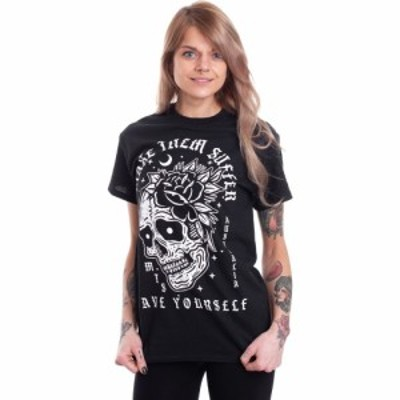 インペリコン Impericon レディース Tシャツ トップス - Save Yourself - T-Shirt black