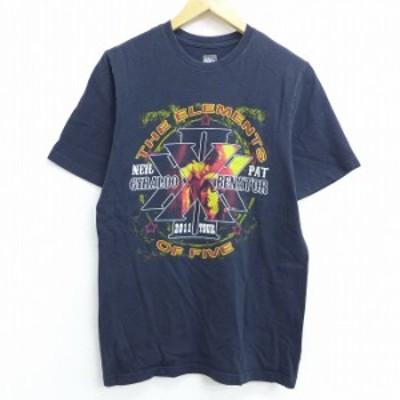 古着 半袖 ロック バンド Tシャツ パットベネター 黒 ブラック Mサイズ 中古 メンズ Tシャツ 古着